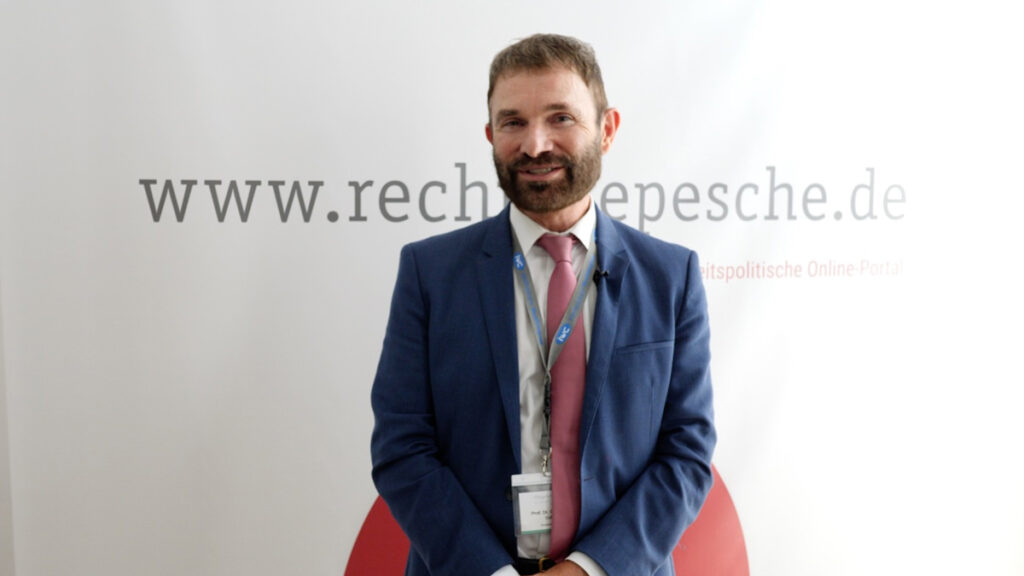 Kongressinitiator des JHC, Prof. Dr. Volker Großkopf